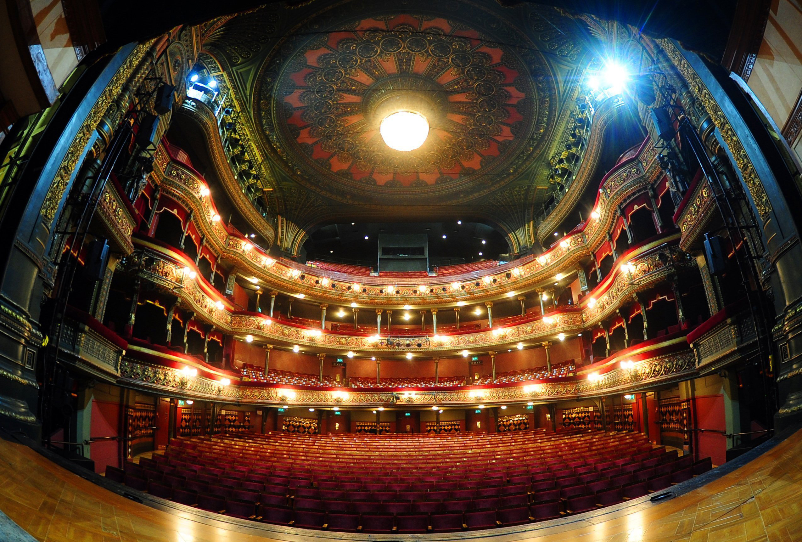 Leeds Grand Theatre auditorium