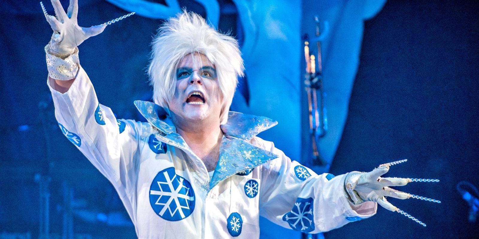 Kenny Davies as Jack Frost at City Varieties